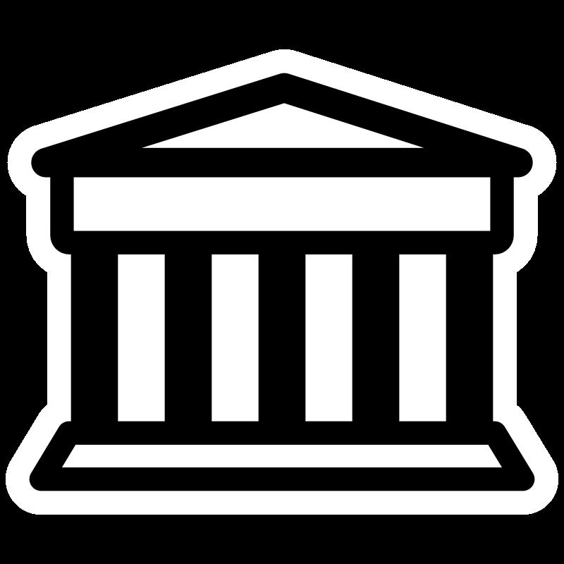 Clipart - mono bank