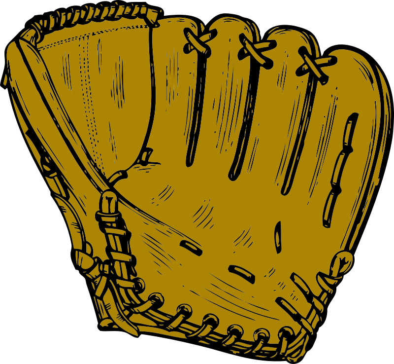 baseball glove by johnny_automatic - a baseball glove or mitt from a U.S. patent drawing