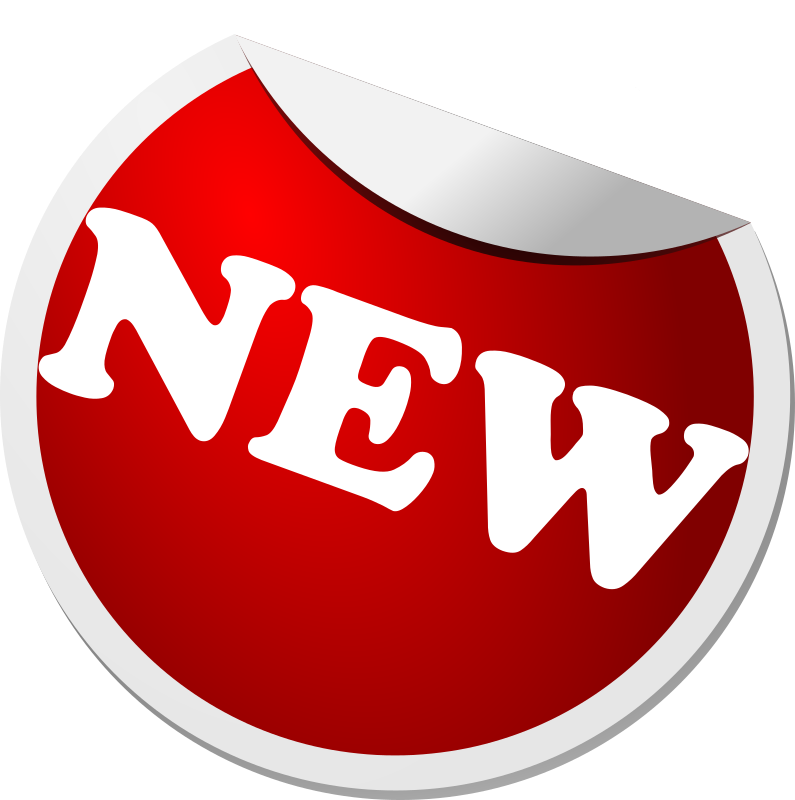 Label Icon by sheikh_tuhin - Label with the word 'new' written on that.