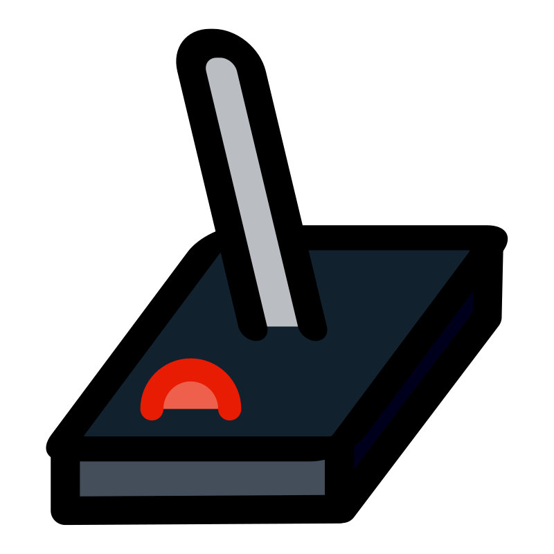 primary joystick by dannya - Part of the Primary KDE icon theme.