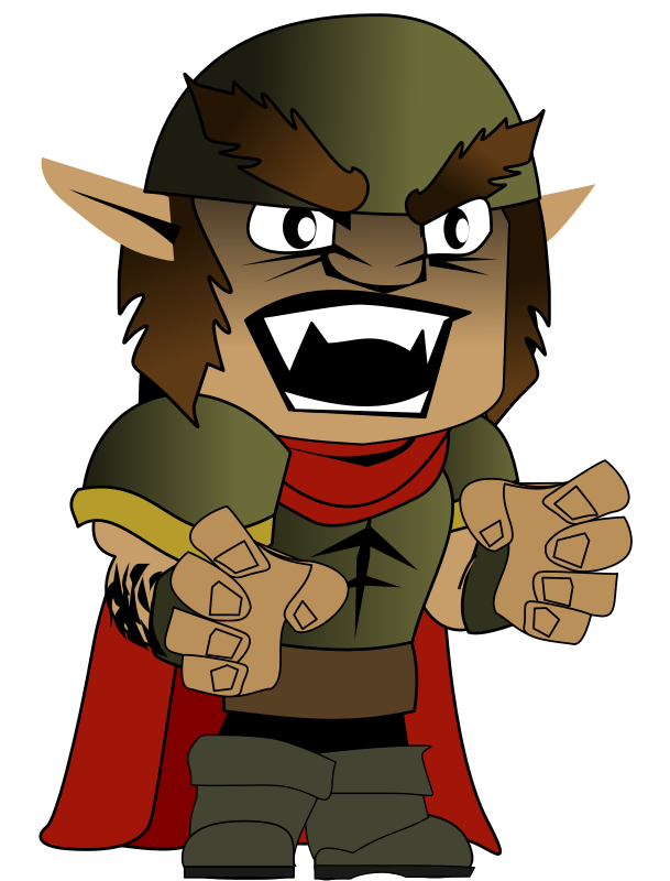 Orc chibi by Peileppe -