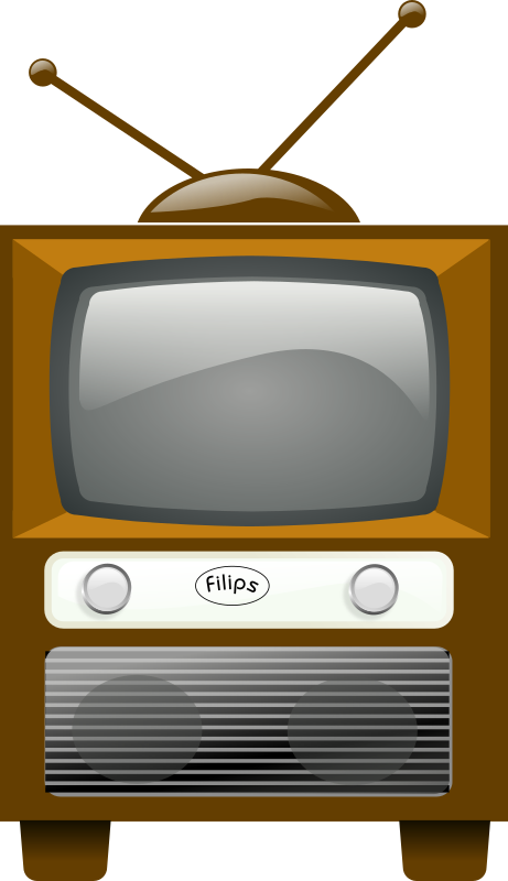 Antique Television by rg1024