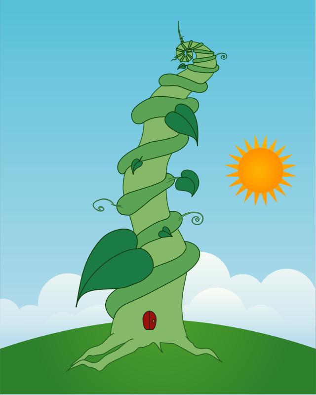 Beanstalk by youk_k - jack and the beanstalk