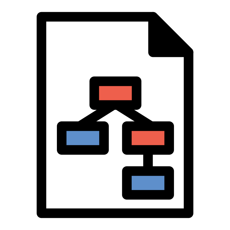 Clipart - primary template basicworkflow