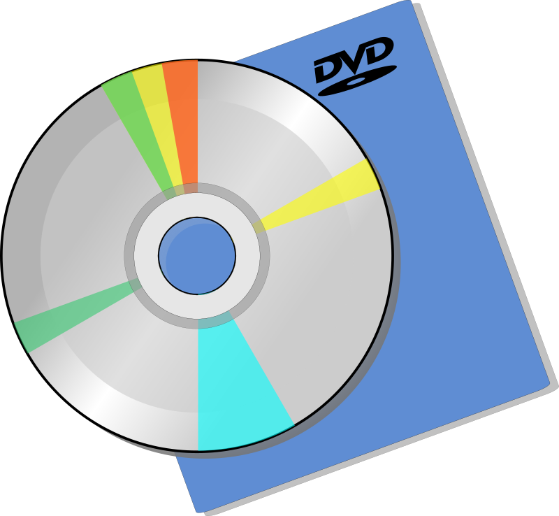 Disc by sheikh_tuhin - A disc over a DVD sleeve.