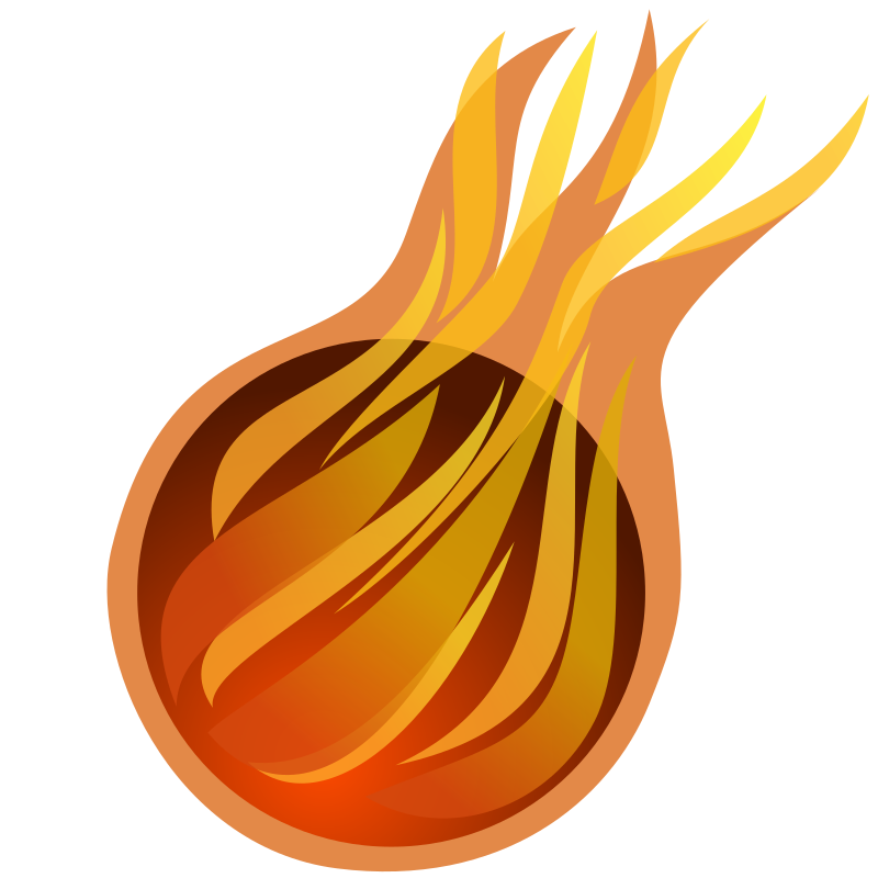"fireball by egore911 - A fireball icon created for ""Forbidden Magic ..."