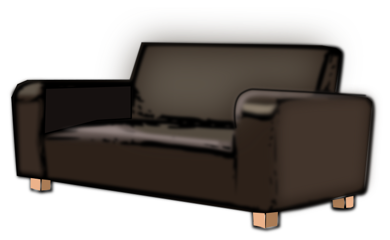 Clipart SOFA : 1409942111 from openclipart.org size 800 x 493 png 144kB