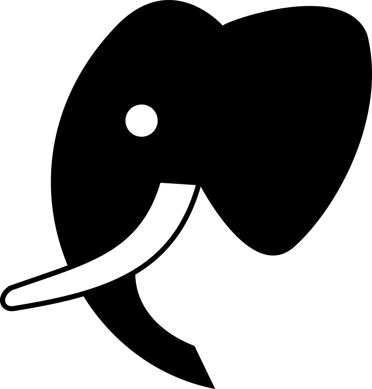 Clipart - Elephant Icon