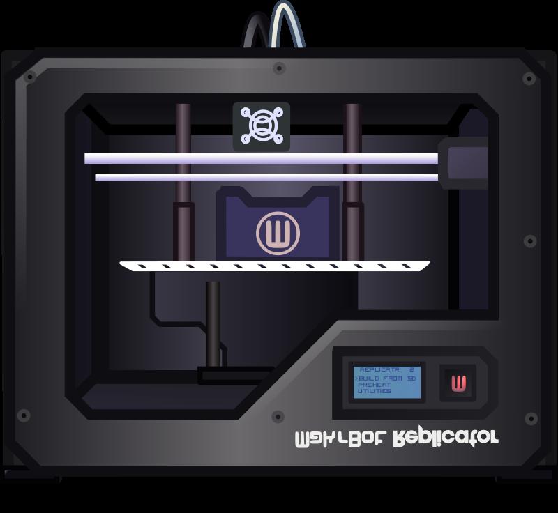 3D Printer graphic