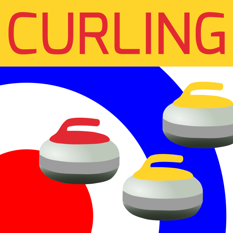 Clipart - Curling Icon