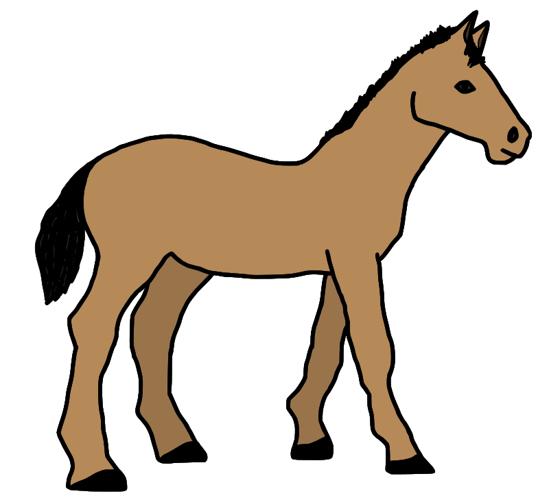 Pony clipart hostted