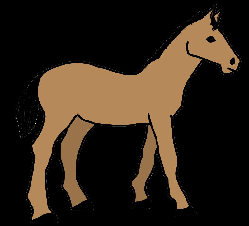 Clipart - caballo