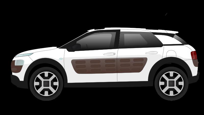 C4 cactus car by spadassin - C4 cactus