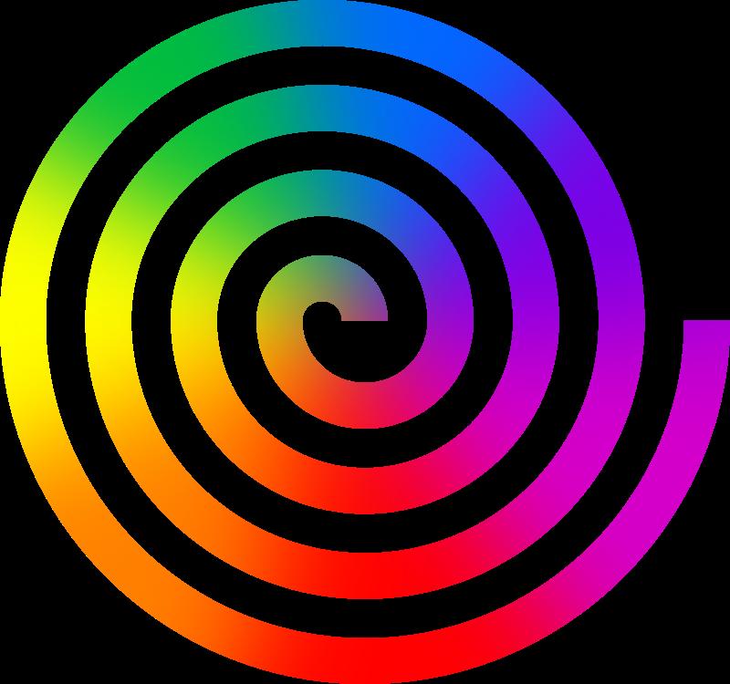 spiral rainbow - photo #36
