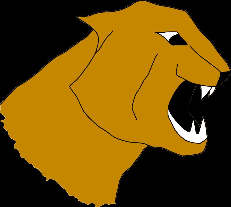 Puma Head by darken33 - A simple puma head