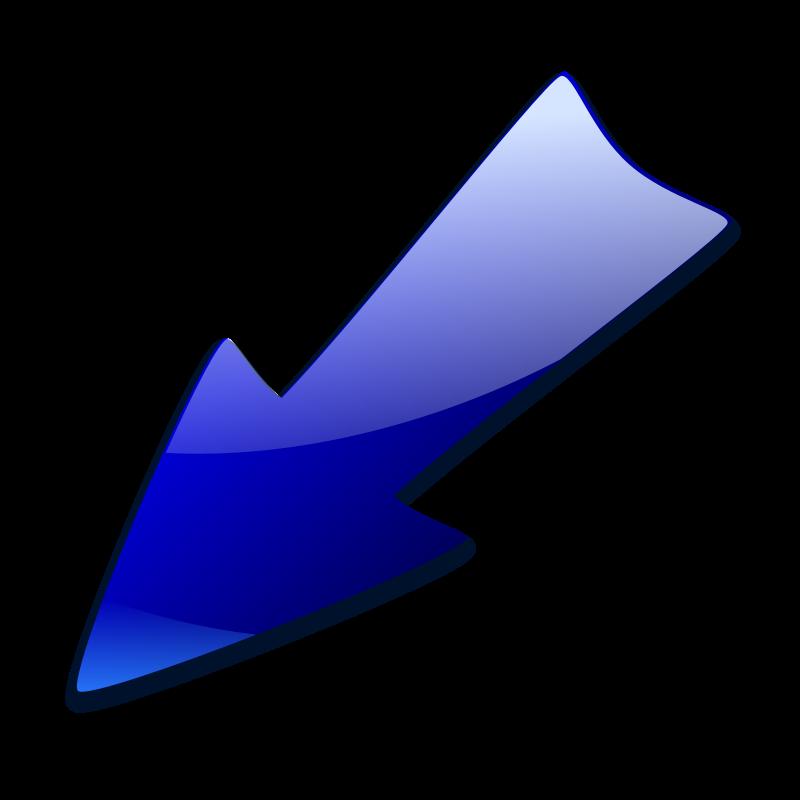 clipart diagonal arrow - photo #24