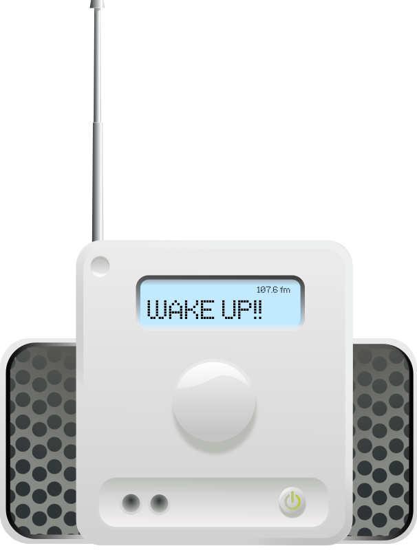 radio: Wake Up!! by rg1024