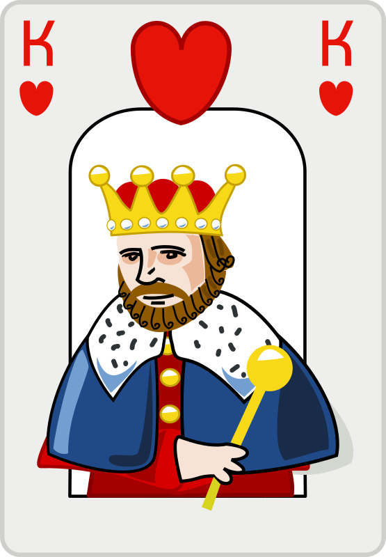King of hearts by rg1024