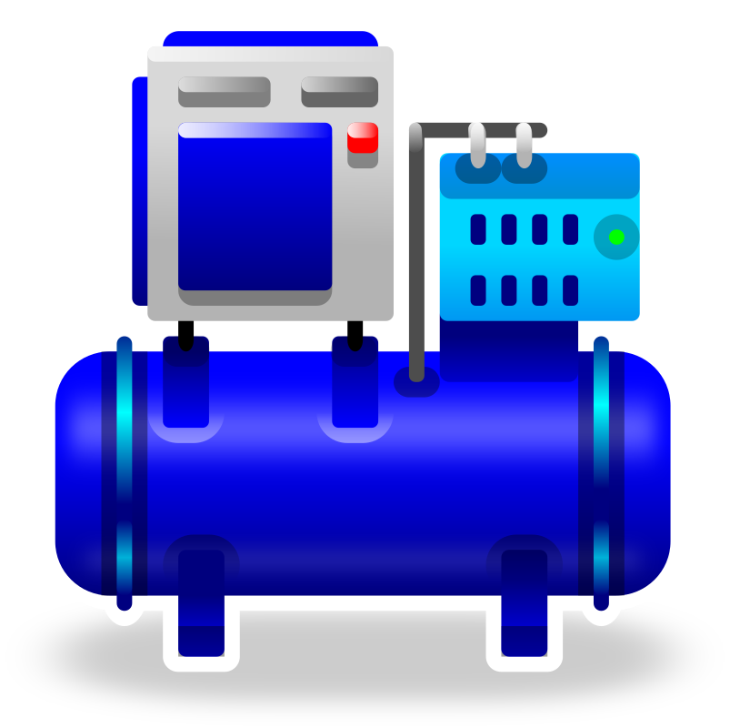 Clipart Compressor Illustration