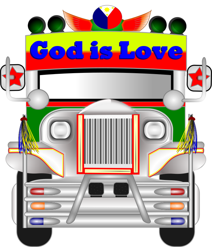Philippine Jeepney by wsnaccad - Here is another pride of the Philippines. The JEEPNEY.