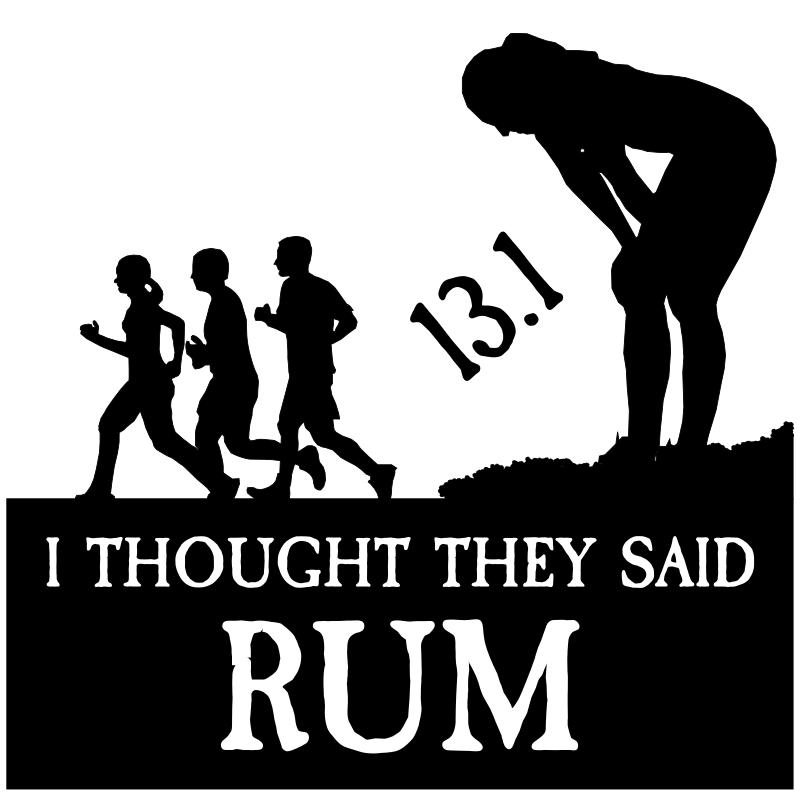 Clipart - funny running logo