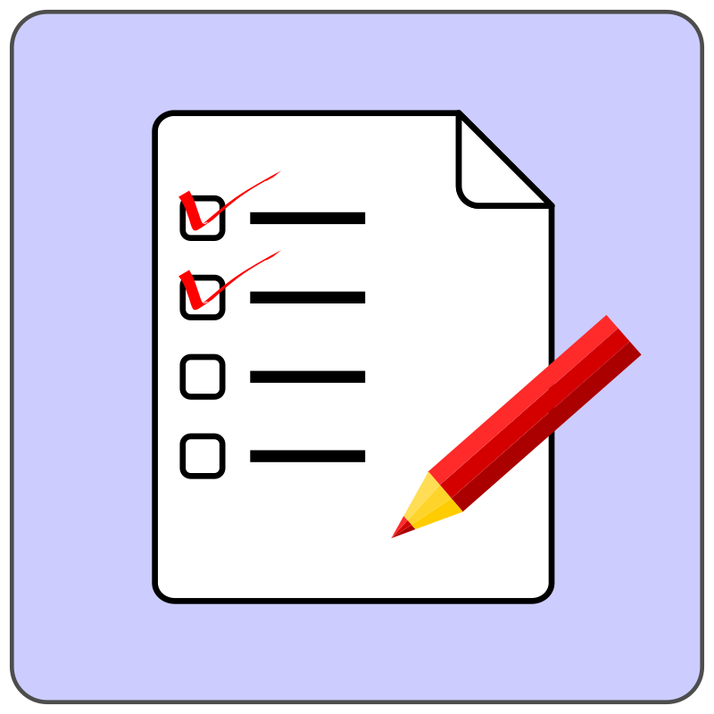 Checklist icon by CoD_fsfe