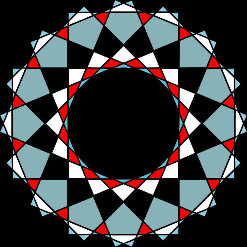 Clipart - Islamic modern vector ornaments art