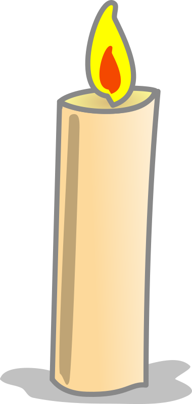 Clipart - Simple Candle