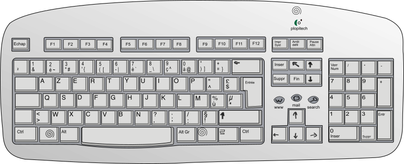 Plopitech keyboard by glibersat -