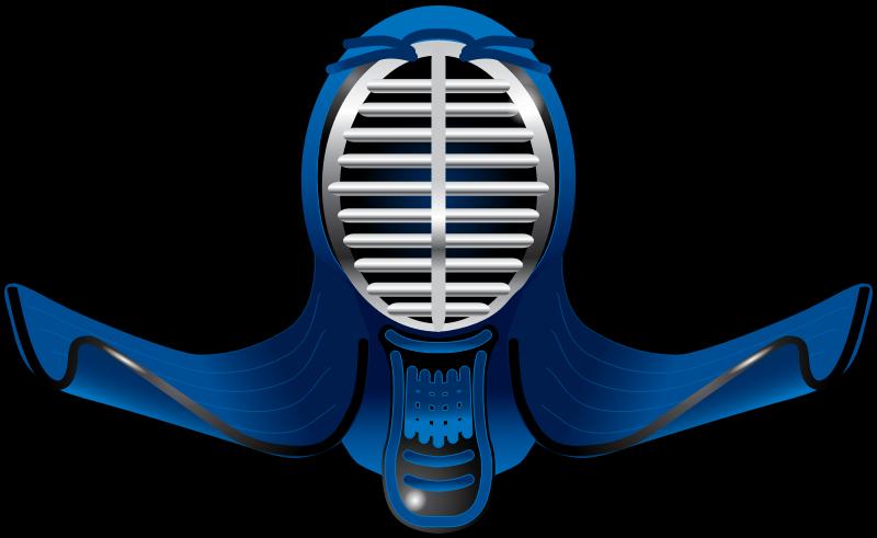 Clipart - Kendo Helmet