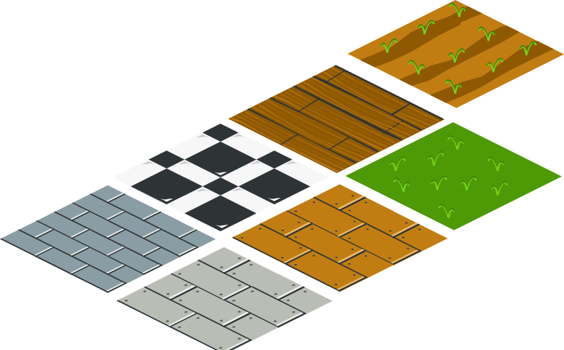 isometric floor tile by rg1024