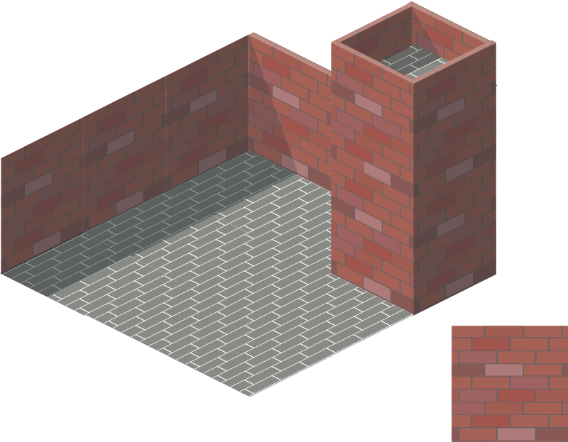 brick tile 2 by rg1024 - 3d view