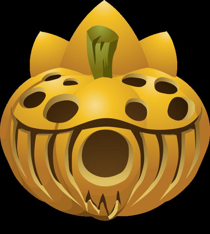 Clipart Carved Pumpkins 5