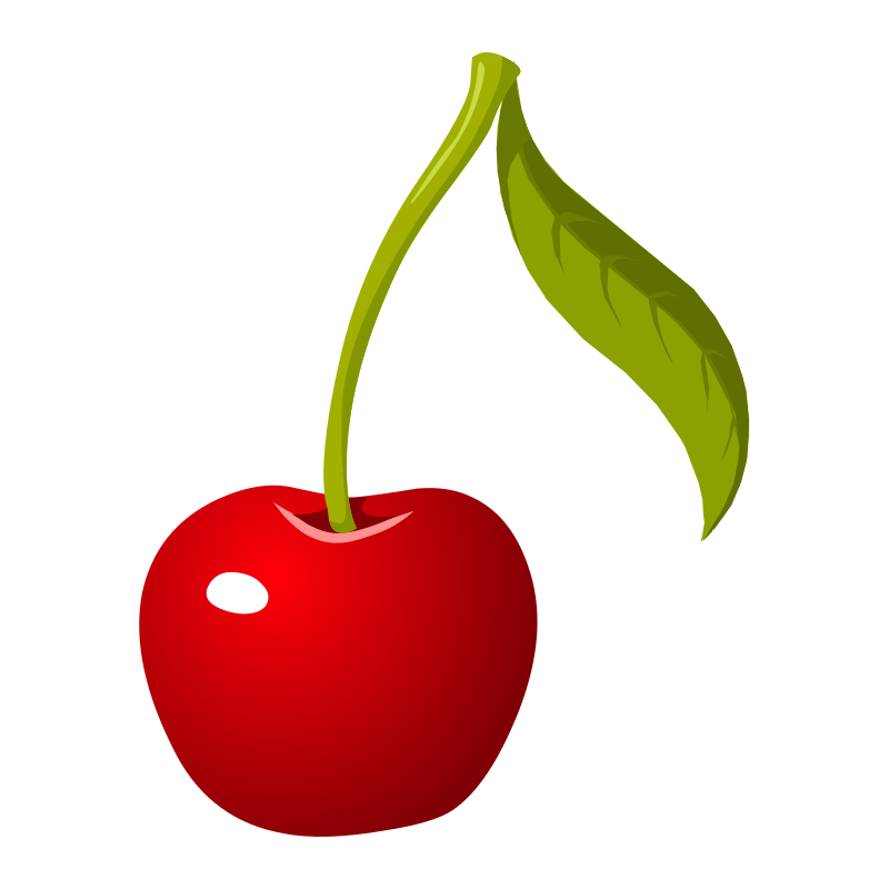 Clipart Food Cherry