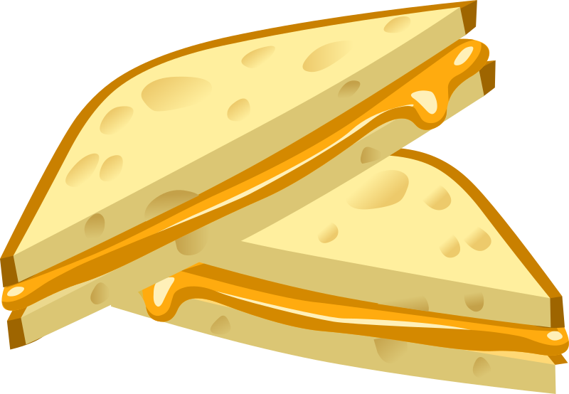 Clipart - Food Grilled Cheese