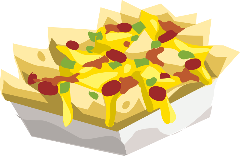 Food Hungry Nac... Nacho Party Clipart