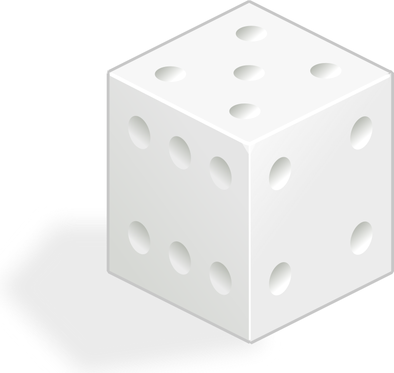 white dice by rg1024 -