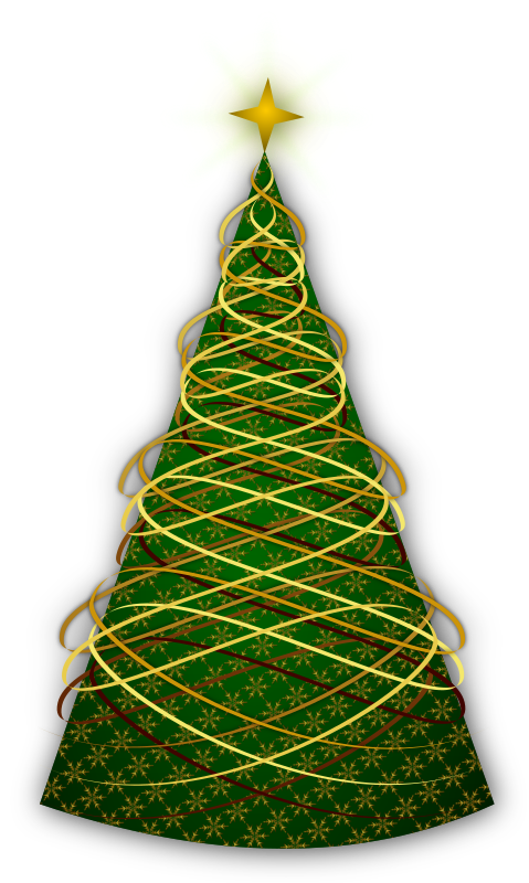 Clipart 2014 Christmas Tree