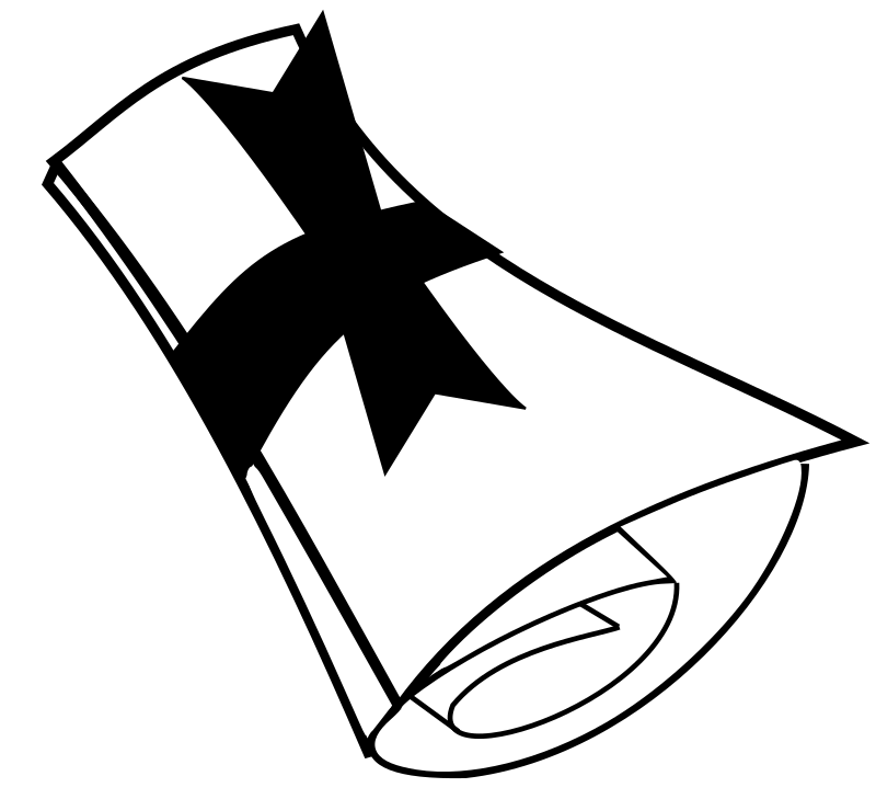 clipart black and white png - photo #32