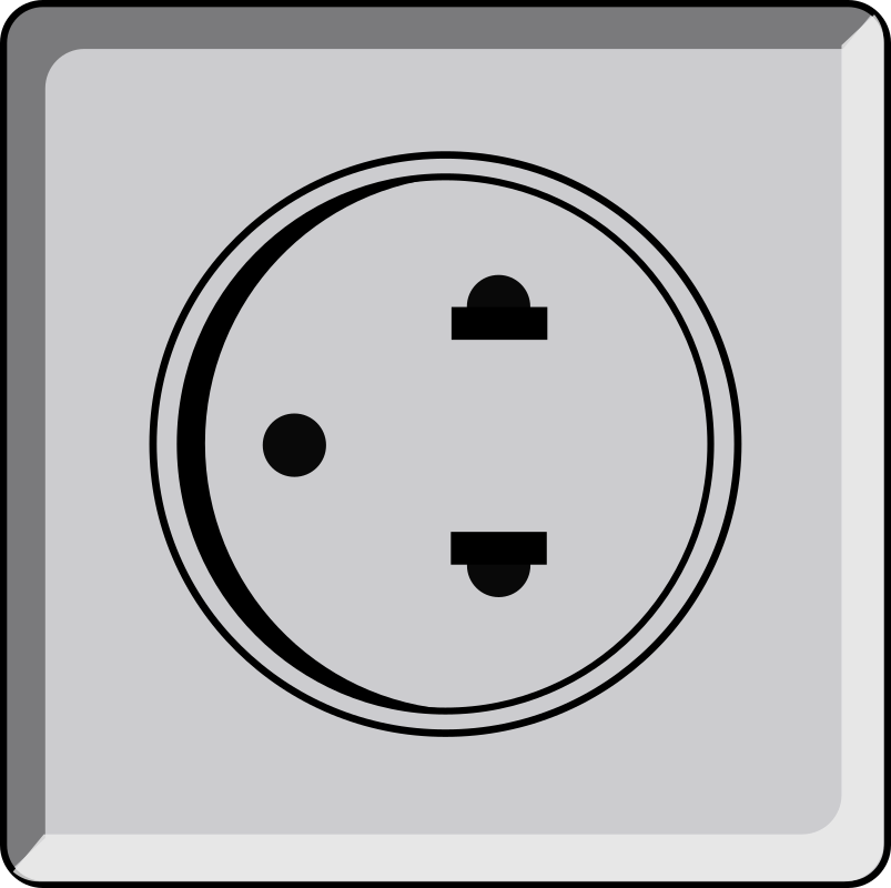 clipart tomada usa wall socket electrical clip art electricity electric clip art/flow of current