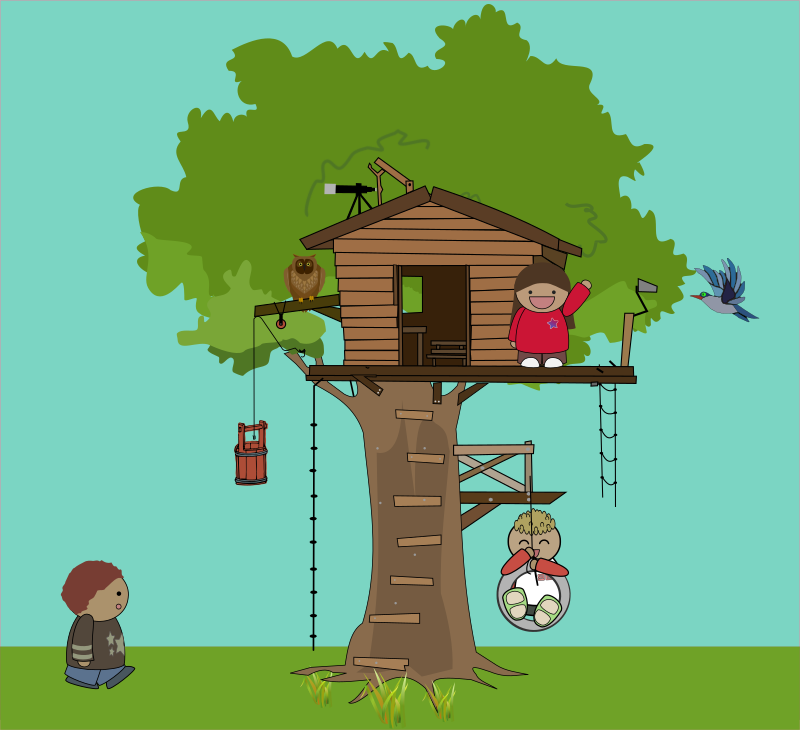 clipart pictures tree house - photo #20