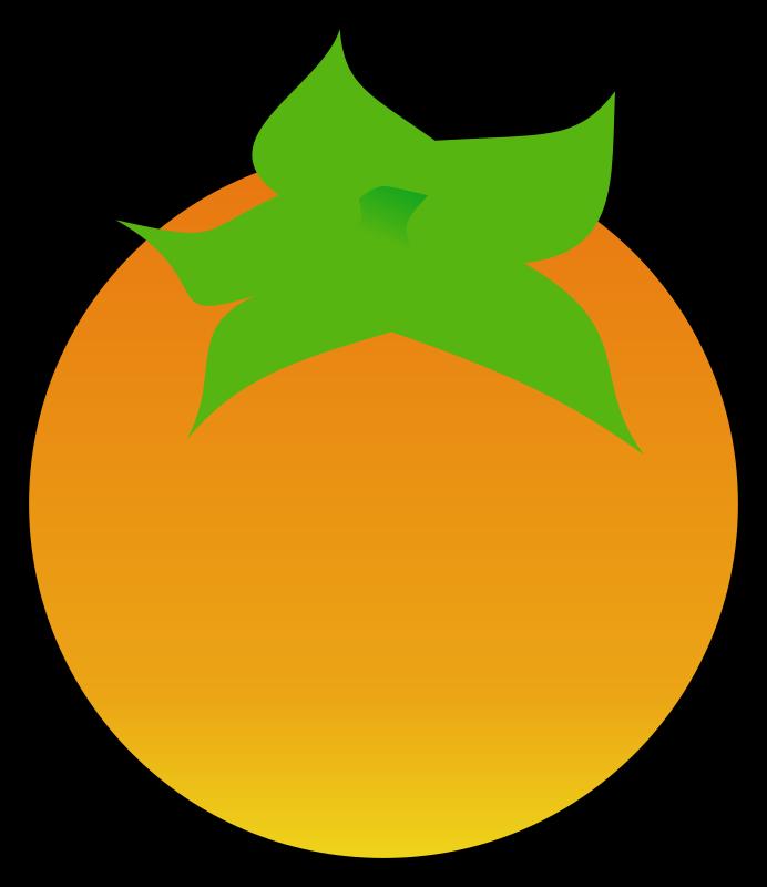 Clipart - Persimmon (Khaki)