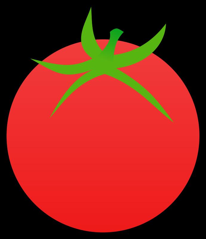 Clipart - Tomato