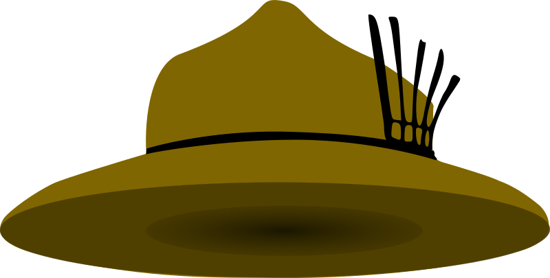 scout hat by gilrim - a scout hat similar to what Lord Baden Powell used