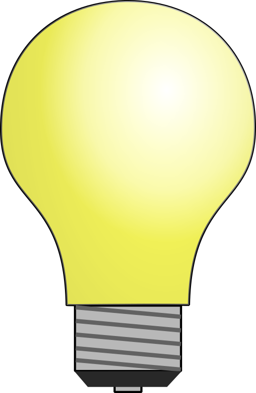 light bulb by cafuego - A screw-in light bulb