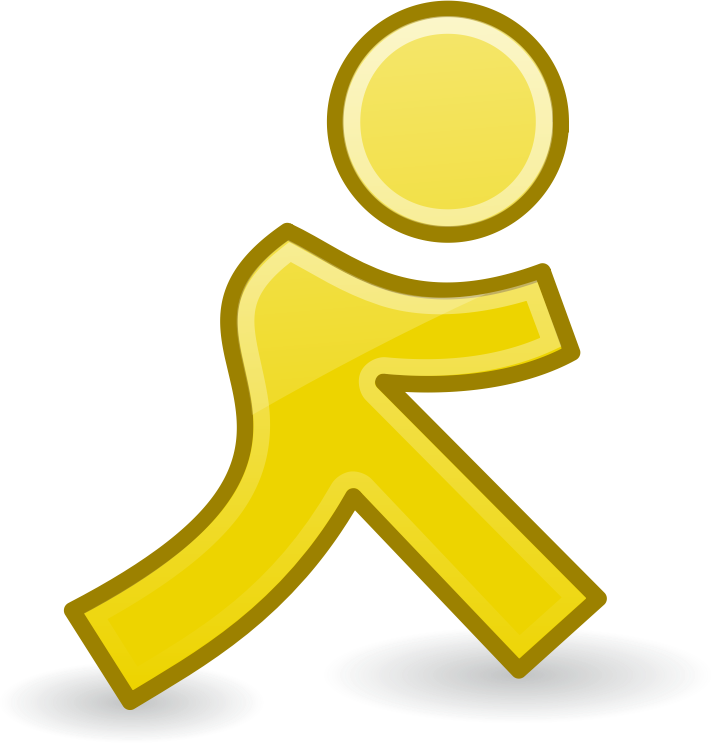 Clipart - walking