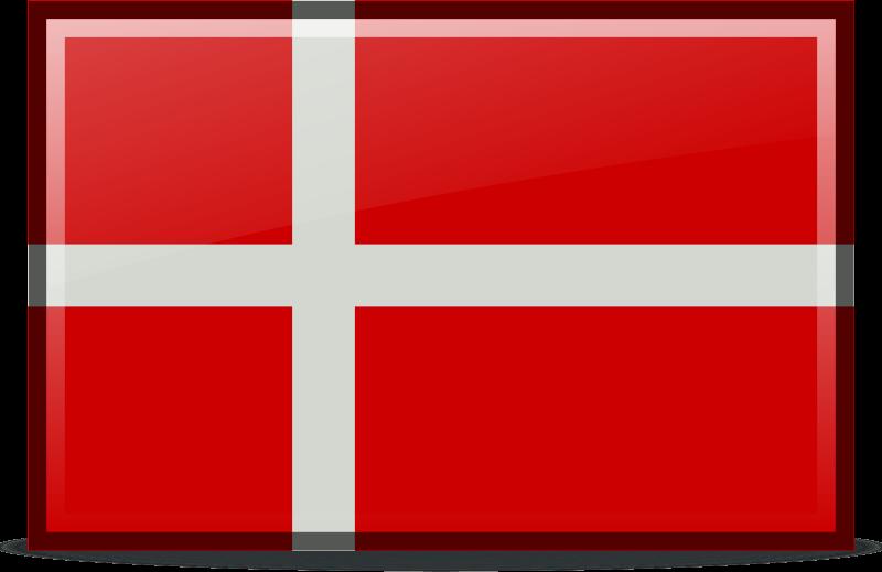 flag denmark by sixsixfive