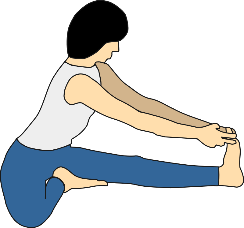 Maha Mudra by mpuech - Maha Mudra yoga position.