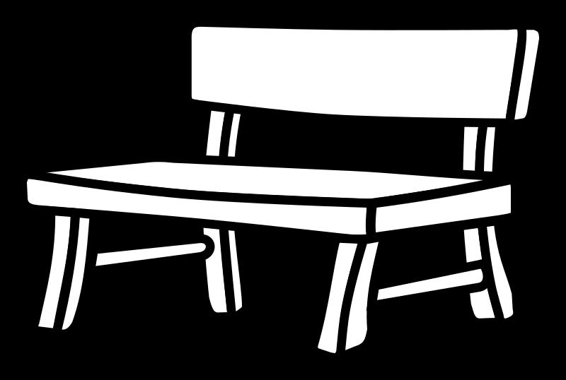 Clipart - bench... Microsoft Garden Clipart