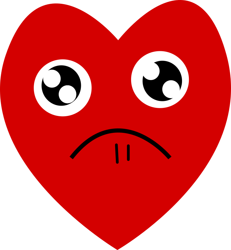Clipart - Heart-Pitiful